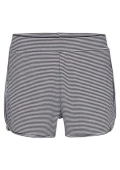 Basic Apparel - Shorts - Congo Shorts Stripe - Black Off