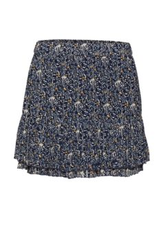 NORR - Nederdel - Monica Skirt - Navy Flower