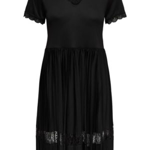 Jacqueline de Yong - Kjole - JDY Gemma S/S Short Dress - Black