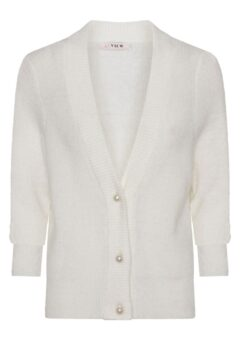 A-View - Cardigan - Omy Knit Cardigan - Off White