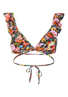 Pieces - Badetøj - PC Nabiya Bikini Bra Top - Exuberance/Flower
