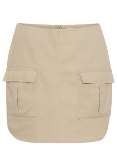 A-View - Nederdel - Signe Utility Skirt - Sand