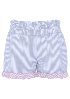 A-View - Shorts - Salvador Shorts - Blue Stribe With Purple