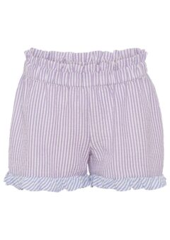 A-View - Shorts - Salvador Shorts - Purple Stribe With Blue